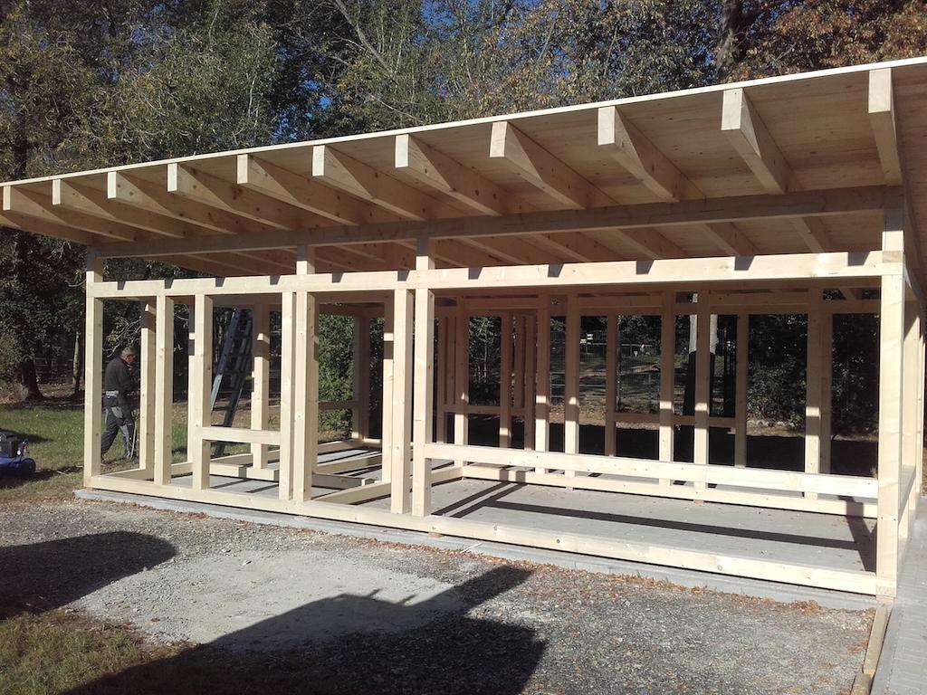 Holzrahmenbau | Zimmerei & Holzbau Wels